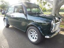1999 Rover Mini WIdebody Mayfair Green Manual Hatchback Concord Canada Bay Area Preview