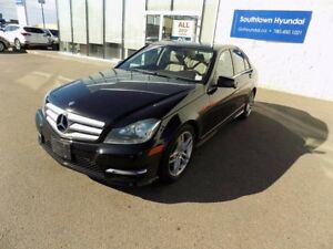2013 Mercedes-Benz C-Class 4MATIC/LEATHER/SUNROOF/POWER FOLDING