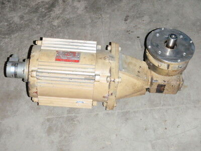 General Electric Ac Motor 5k184wx20396p W Reducer  5k184wx2o396p