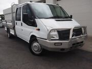 2012 Ford Transit VM LWB White 6 Speed Manual Cab Chassis Mount Gambier Grant Area Preview