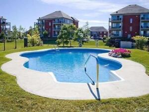 Brossard DIX-30 condo 4½ a louer avec superbe vue et piscine