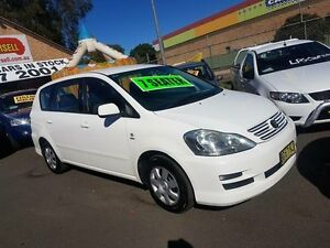 2009 Toyota Avensis ACM21R Verso GLX White 4 Speed Automatic Wagon Campbelltown Campbelltown Area Preview