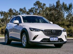 2019 Mazda CX-3 DK2WSA Maxx SKYACTIV-Drive FWD Sport White 6 Speed Sports Automatic Wagon Cannington Canning Area Preview