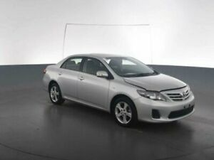 2013 Toyota Corolla ZRE152R MY11 Conquest Silver Pearl 4 Speed Automatic Sedan Geebung Brisbane North East Preview