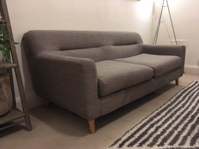 8c32609e0e25 Grey 3-seater sofa, bought 6 months ago | in Richmond, London ...