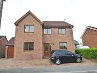 Spacious 4 bed detached with garage & parking