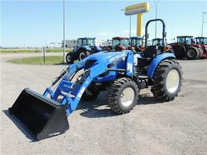 Demo 2015 New Holland Boomer 47 -46hp,Hydro, FWA, LoaderBLOW OUT