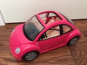 ADORABLE PINK CAR for BARBIE.