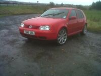 VW Golf 1.8T GTI 20V, spares or repairs, still driveable