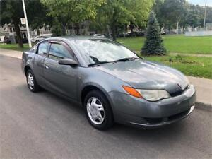 2007 SATURN ION , MANUEL  , 2 PORTES , TOUTE EQUIPE, 4 CYLINDRE