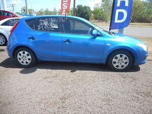 2009 Hyundai i30 FD MY09 SX Vivid Blue 5 Speed Manual Hatchback Winnellie Darwin City Preview