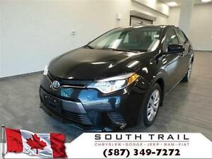 2015 Toyota Corolla LE +UP TO $3000 IN SAVINGS CALL CHRIS ASAP