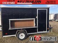 7ft x 12ft Enclosed Tool Box Trailer (RTBT7x12SAE) London Ontario Preview