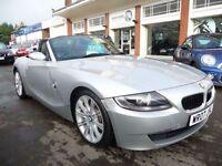 BMW Z4 2.0 Z4 SPORT ROADSTER 2d 148 BHP (silver) 2007