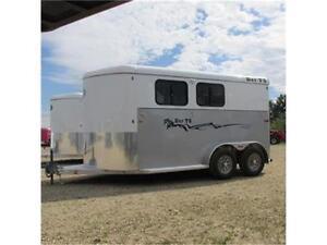 New 2016 C&B Royal T Imperial X 2 Horse All Aluminum Slant Load Edmonton Edmonton Area image 2