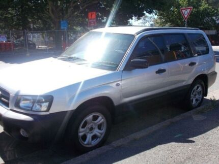 2004 Subaru Forester MY04 XS Silver 4 Speed 4 SP AUTOMATIC Wagon