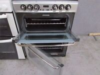 ***SILVER+ 60 CMS+ STOVES NEWHOME DOUBLE OVEN+ CERAMIC TOP+ ELECTRIC COOKER***