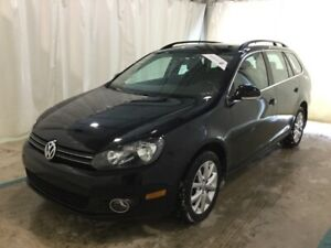 2013 Volkswagen Golf Wagon Diesel, Low Km, 200k Warranty! Comfor