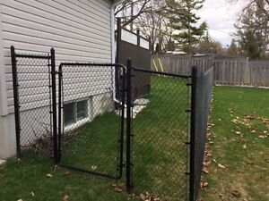 Chainlink fence like new