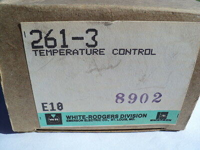 White Rodgers Emerson 261-3 Temperature Control Adjustable Thermostat 55-103f