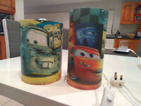 Disney Cars Lamp and Ceiling Shade