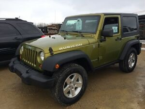 2007 Jeep Wrangler Rubicon AUCTION!!!