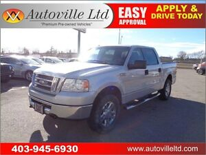 2008 Ford F-150 4X4 Crew Cab 6 Passenger Backup Camera