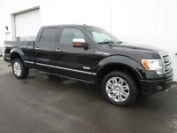 2012 Ford F150 Platinum 4X4 Power Boards Sunroof Nav! Low $$$