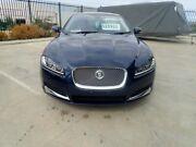 2013 Jaguar XF X250 MY14 Premium Luxury Blue Metallic 8 Speed Sports Automatic Sedan Wangara Wanneroo Area Preview