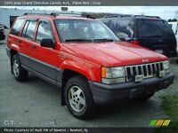 1995 Jeep Grand Cherokee POLICE PACK A VENDRE PAS CHER