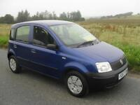 Fiat Panda 1.1 Active 2007 MOT 15/8/17 49200 Mls 2 Pre Owners Low Insurance Good