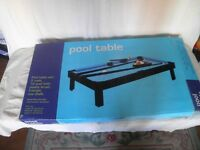 "36"" Pool Table set"