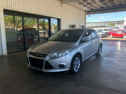 2013 Ford Focus LW MKII Trend PwrShift Silver 6 Speed Sports Automatic Dual Clutch Hatchback Miles End Mt Isa City Preview