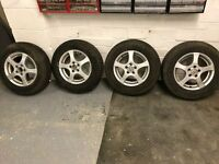4 x Golf Mk4 Alloy wheels & tyres 6j x 14 with 175/80 R 14 tyres