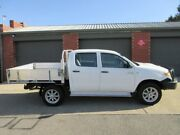 2007 Toyota Hilux KUN26R 07 Upgrade SR (4x4) White 5 Speed Manual Dual Cab Chassis Gilles Plains Port Adelaide Area Preview