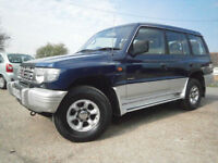99 MITSUBICHI SHOGUN 3.0 V6 24v AUTOMATIC DIAMOND OPTION GLS 7 SEATER 4X4 92K SH