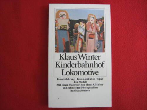 Kinderbahnhof Lokomotive * Klaus Winter * Kunsterfahrung Kommunikation * Modell