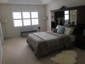 Beautiful Solid Wood Bed Set For Sale