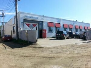 FOR LEASE South Side Industrial Warehouse with office (2 bays)