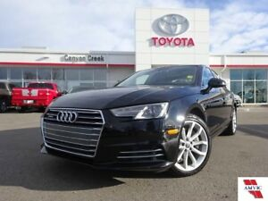 2017 Audi A5 PROGRESSIVE QUATTRO 2.0/ 1 OWNER/ NAVIGATION/MOONR