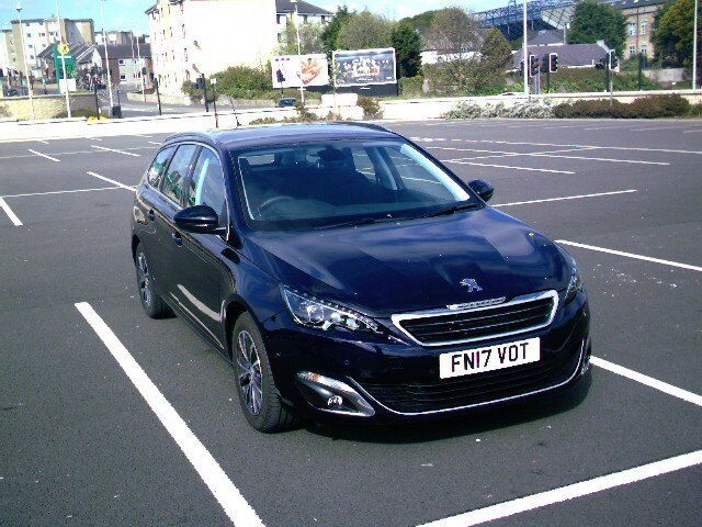 2017 peugeot 308 sw allure in burntisland fife gumtree. Black Bedroom Furniture Sets. Home Design Ideas