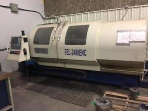 Challenger FEL-2480 ENC, Made in Taiwan with Fagor Control, Excellent Condition