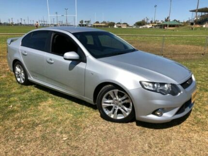 2011 Ford Falcon FG Upgrade XR6 Silver 6 Speed Auto Seq Sportshift Sedan Coonamble Coonamble Area Preview
