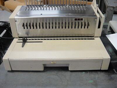 Tcc Plastic Comb Binding Machine