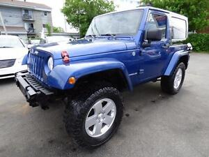 2009 JEEP WRANGLER X (MANUELLE, 4X4, V6, CRUISE, HITCH, MAGS!!!)