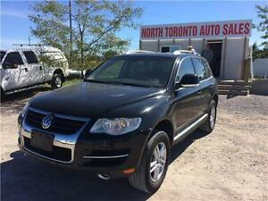 2008 VOLKSWAGEN TOUAREG 2 COMFORTLINE - LEATHER - SUNROOF - 4X4