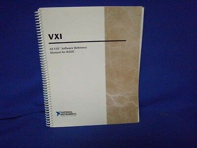 National Instruments Ni-vxi Software Reference Manual