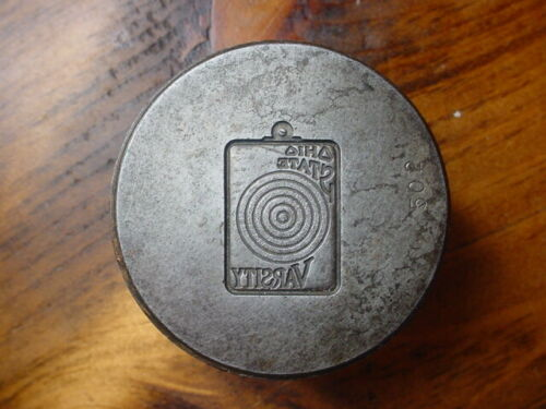 Vintage OHIO STATE UNIVERSITY VARSITY Jewelry Tool Die Hob Stamp Jeweler BLOCK