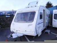 2007 Sterling Eccles Jade FIXED SINGLE BEDS Inc a motor mover 4 Berth Touring Caravan.