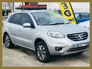 2012 Renault Koleos H45 Phase II Dynamique (4x2) Silver Continuous Variable Wagon Broadmeadow Newcastle Area Preview